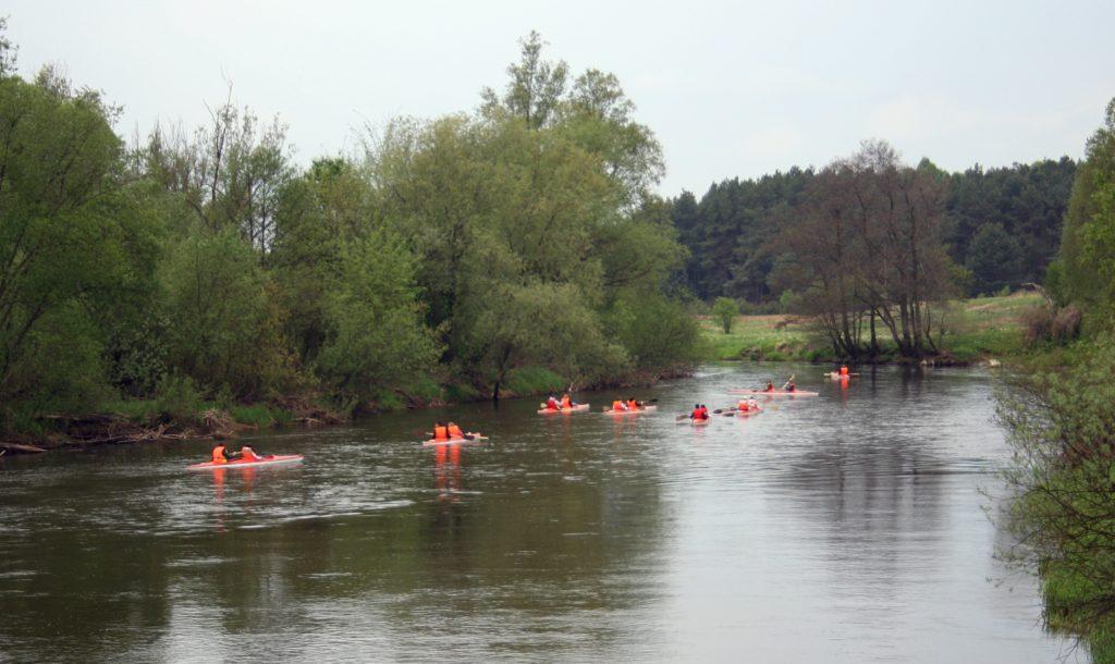 Spływ kajakowy po Warcie